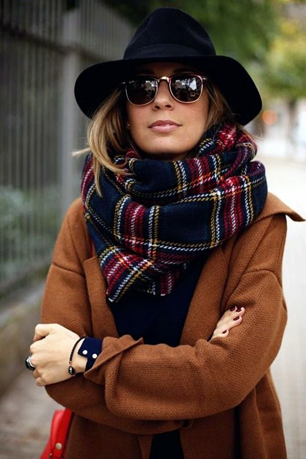 Brilliant Scarf Style Ideas that Always Works (16)