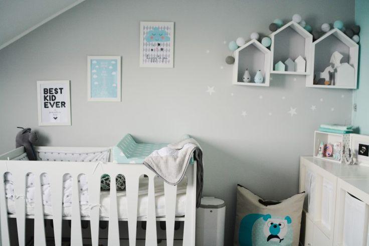 Pokój dla niemowlaka jak z magazynu - PLN Design