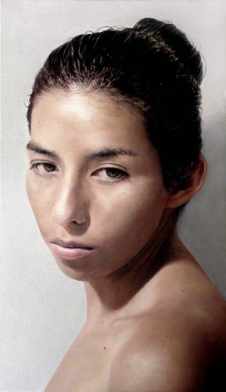 Κολυμβήτρια (2013)  Λάδι σε μουσαμά