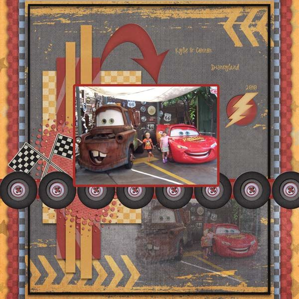 Lightning McQueen and Mater.