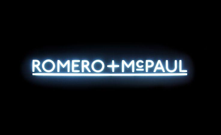 Romero+McPaul. Design by www.anagrama.com