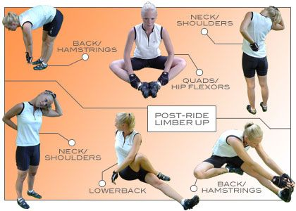 Try these stretches before you run.