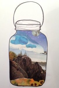 Favorite Spot or Moment, in a Bottle - I have a picture book to go with this!