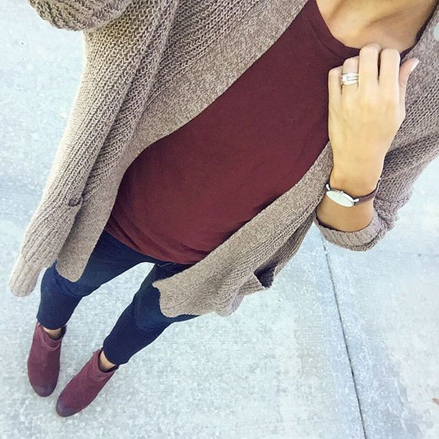 // style inspiration //I just got a pretty version of this cardigan, sans pockets //