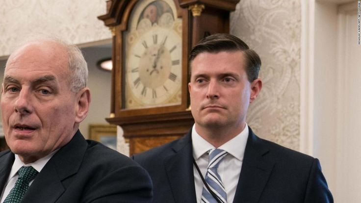 Moments after Rob Porter resigned from his post as White House staff secretary on Wednesday, reporters received two very different statements from Porter's former boss, Republican Sen. Orrin Hatch of Utah.