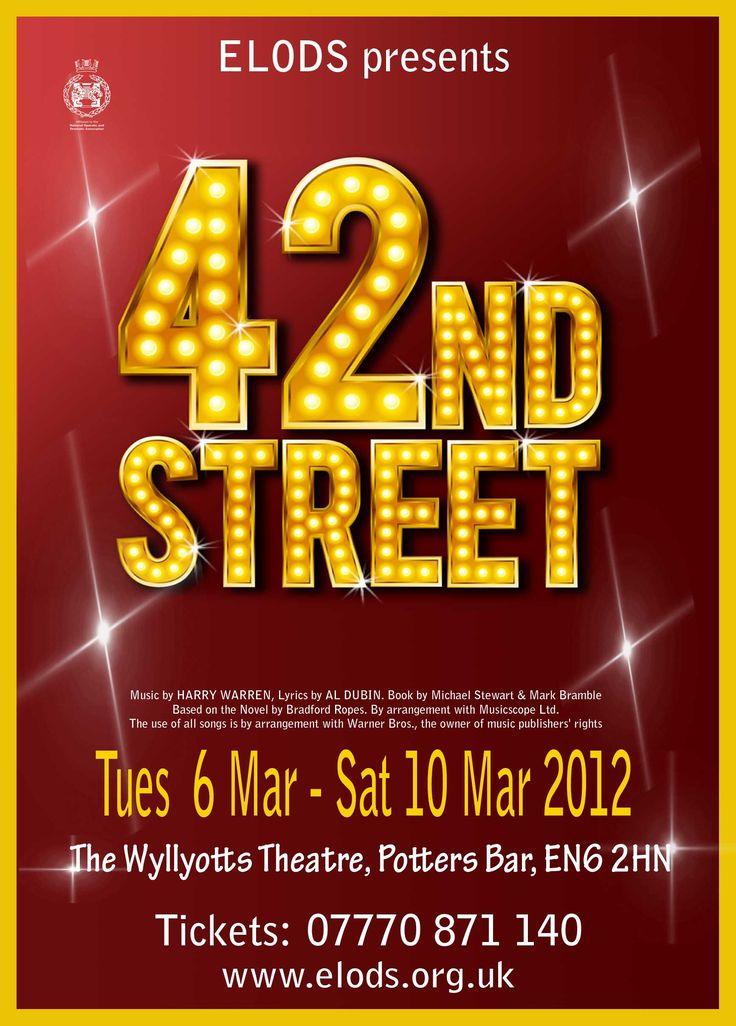 42nd Street (musical) - Wikipedia