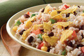 Ensalada de arroz al estilo del sudoeste norteamericano