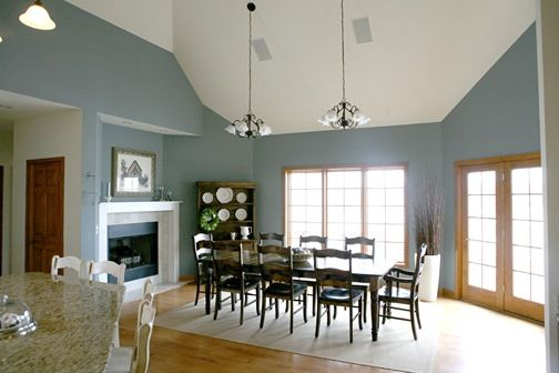 Brewster Gray For Dining Room Paint Colors Pinterest