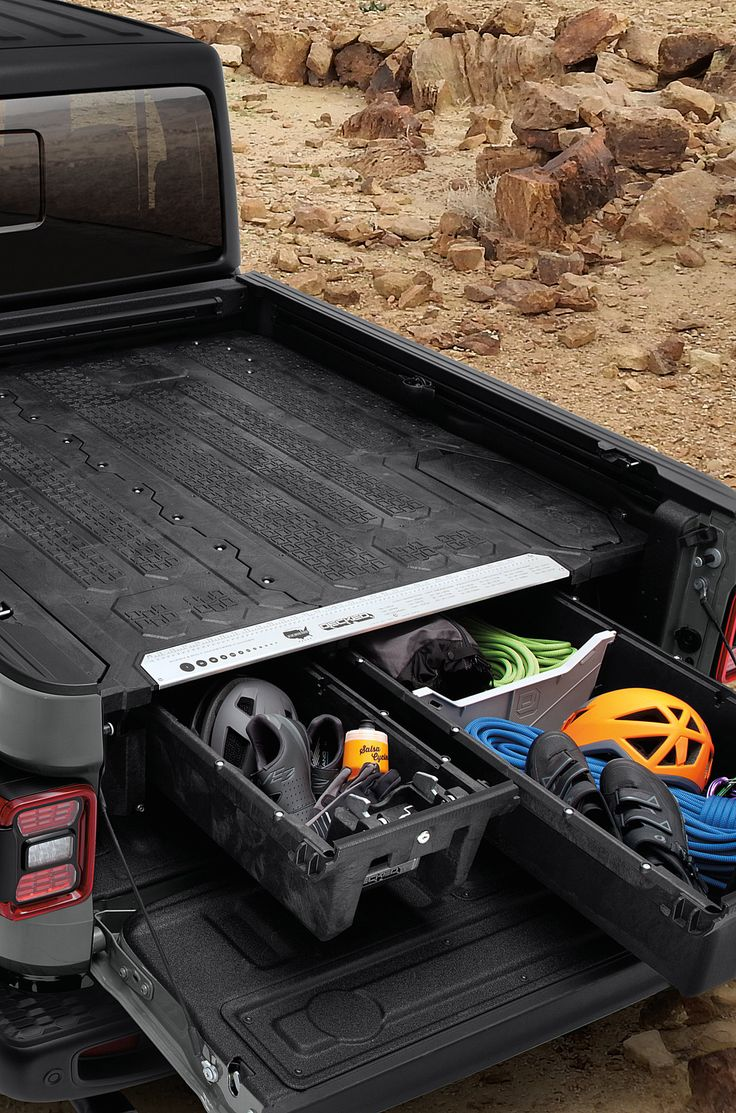 Mopar 82215594AB Truck Bed Storage System for 2020 Jeep