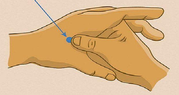 Appuyez pendant 30 secondes sur ce point de votre main (point hoku) pour relâcher vos muscles tendus, soulager vos maux de tête et retrouver votre énergie!