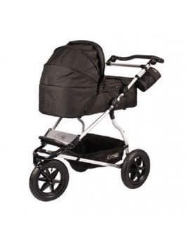 "NZ$169.00 (Was  NZ$209.00) - Mountain Buggy Urban Jungle Carrycot bassinet- Flint GREY colour OR Black  Style Number: 800041     •suitable for newborn to 6 month olds  •width / length: (37cm x 74cm / 14.5"" x 29"")   •weight: 4kg / 8.8lbs"