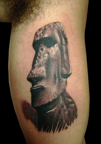 8 best moai images on pinterest easter island art google and beautiful places. Black Bedroom Furniture Sets. Home Design Ideas
