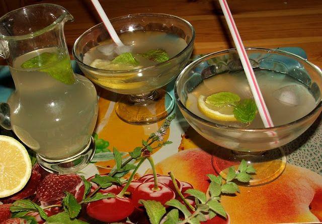 Katalin konyhája: Gyömbéres-mentás limonádé
