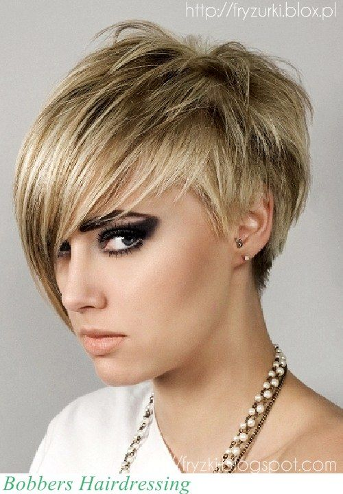 modne fryzury z grzywką, długie,średnie, na studniówkę, ślubne, 2013/2014: Krótkie z długą grzywką