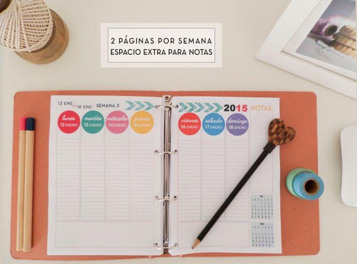Agenda 2015 | con P de Papel