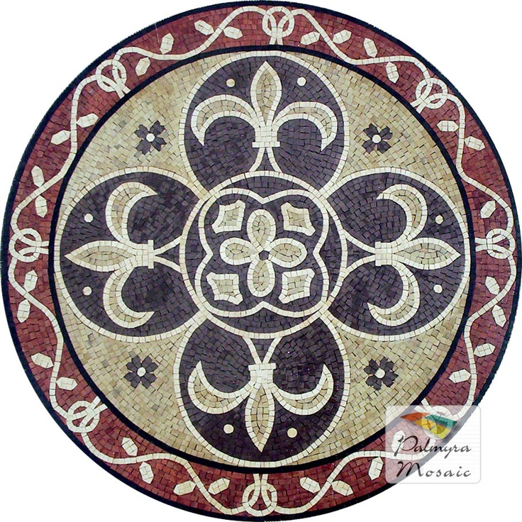 MD009 Marble Mosaic Medallion