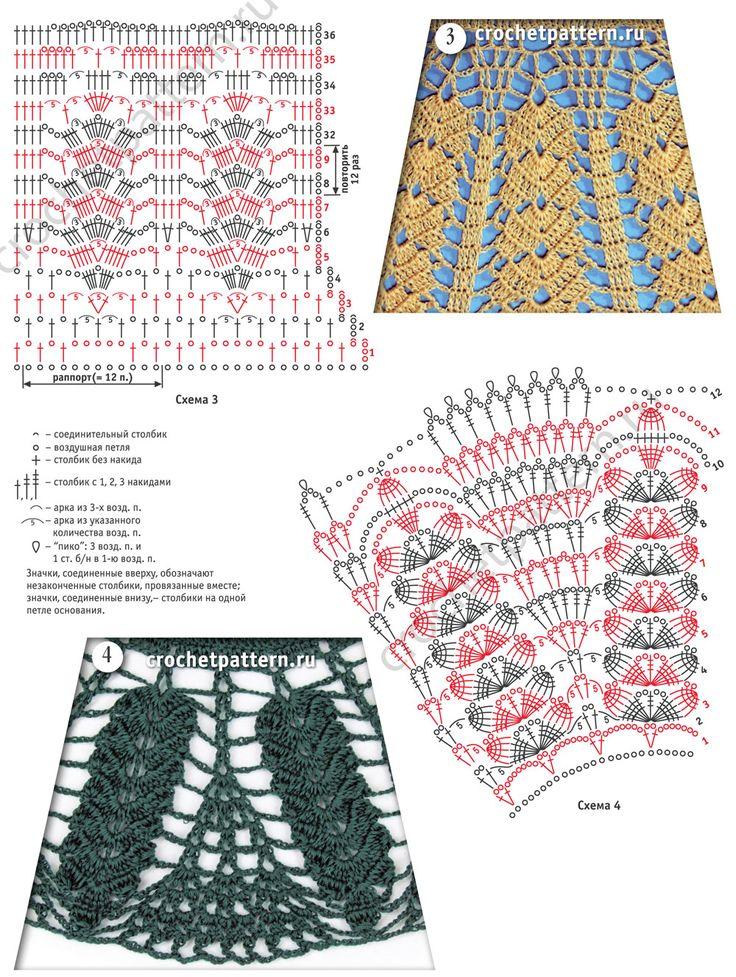 12 best faldas images on Pinterest   Crochet skirts, Crochet ...