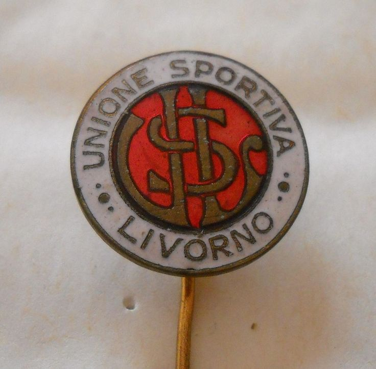 calcio distintivo  US Livorno   pin  badge football soccer