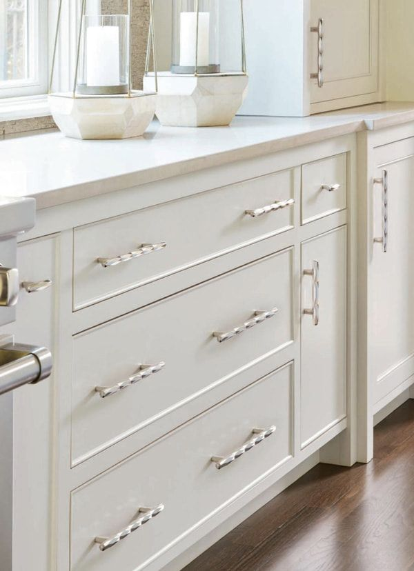 The Right Length Cabinet Pulls For Doors And Drawers