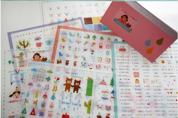 Cheap sticker rubber, Buy Quality sticker lot directly from China sticker online Suppliers: Materials:PVCSize: about 100x170mm7 sheets of different designs/1 lot