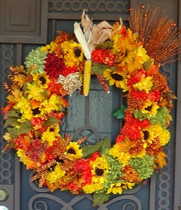 Autumn decor Deirdre Johnson