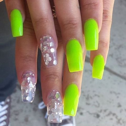 Best 25 lime green nails ideas on pinterest pretty nails love this set by havenhedrick using luau lime prizma greenheartsparkles prinsesfo Choice Image