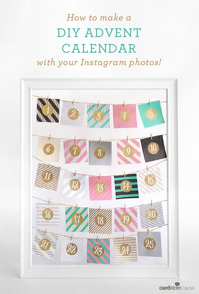 Calendar Advent Diy : Best advent calendars images on pinterest