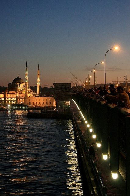 Galata Bridge in Istanbul #istanbul #galata #turkey