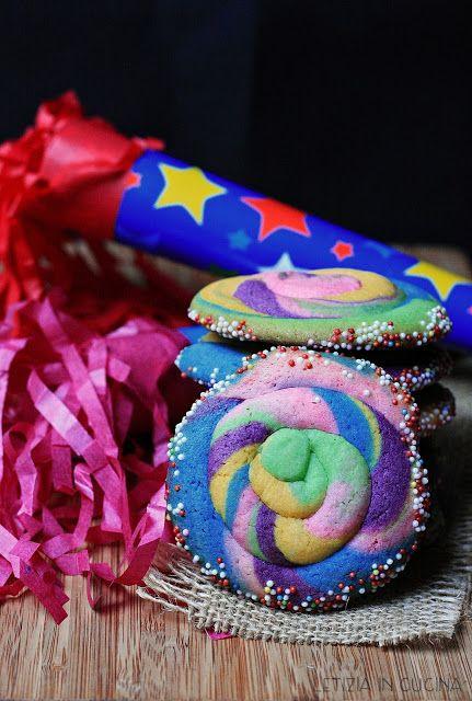 Letizia in Cucina: Biscotti morbidi arcobaleno