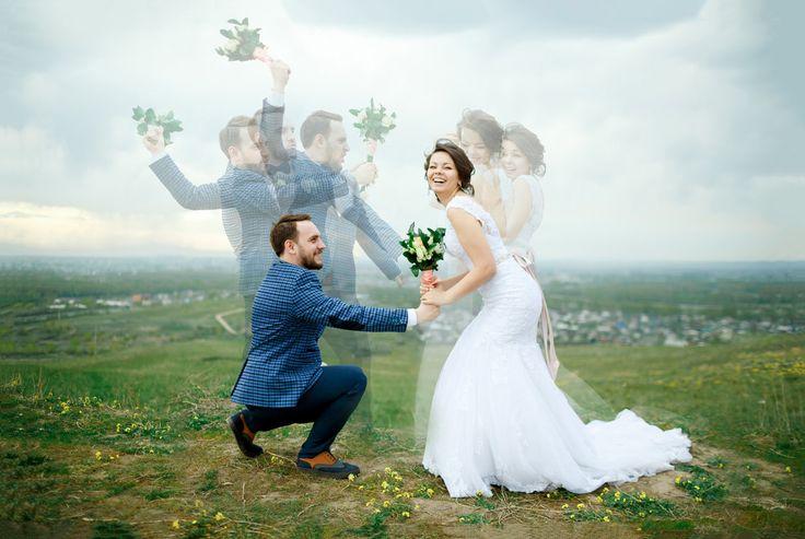 Multiexposition Wedding photo stack by Evgeniy Maynagashev on MyWed