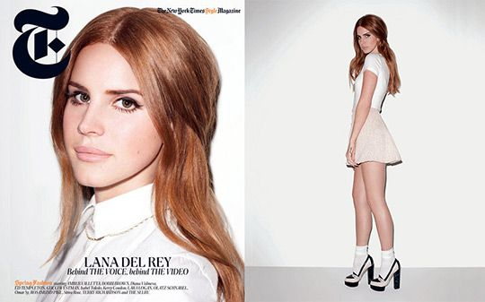 Lana Del Rey by Terry Richardson for T Magazine