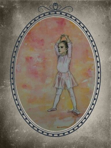 Litlle dancer  Watercolour painting by Shoya