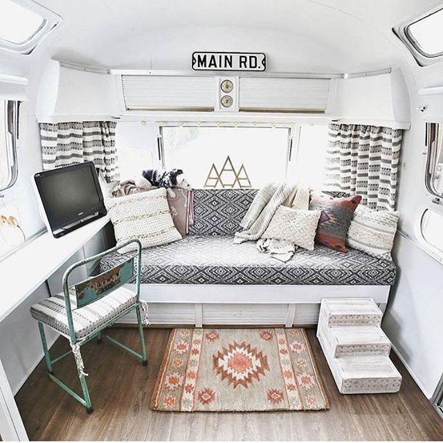 55 Amazing Interior Design Ideas For Camper Van