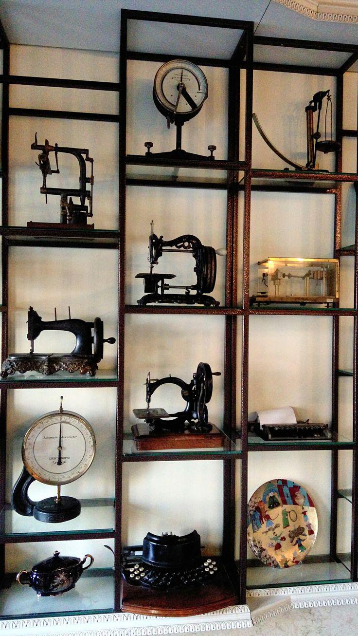 Antika dikiş makinaları