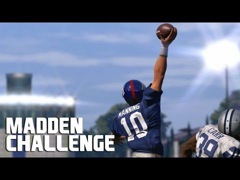 cool Can Eli Manning Recreate The Odell Beckham Jr Catch? – Madden NFL Challenge