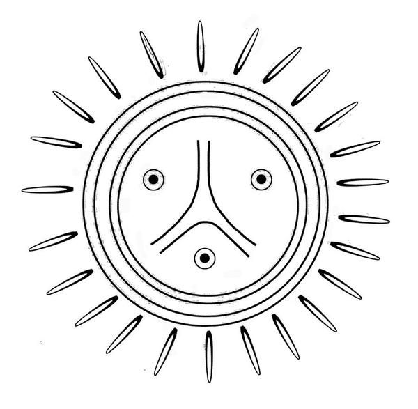 Pictures Of Taino Water Symbols Kidskunstfo