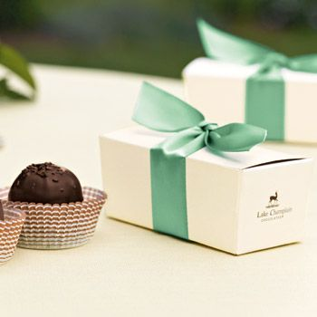 Lake Champlain Chocolates Wedding Favors Gourmet Chocolate Party
