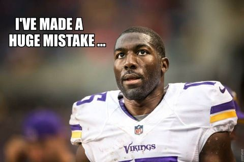 Greg Jennings Didn't Think Much of Vikings' QBs -- Greg Jennings talks about what it was like to go from playing with Brett Favre and Aaron Rodgers to the Minnesota Vikings' trash heap of quarterbacks.