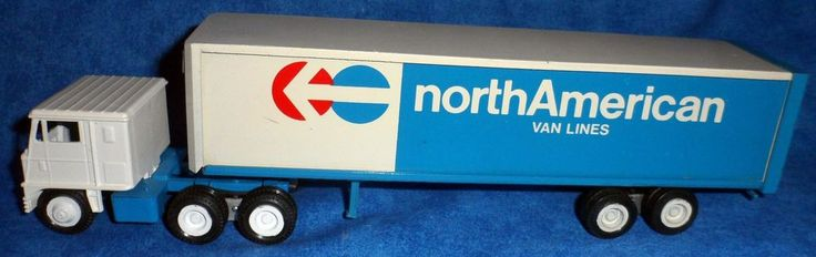 Winross North American Van Lines Truck Trailer Moving Truck 1:64   USA    E5 #Winross #none