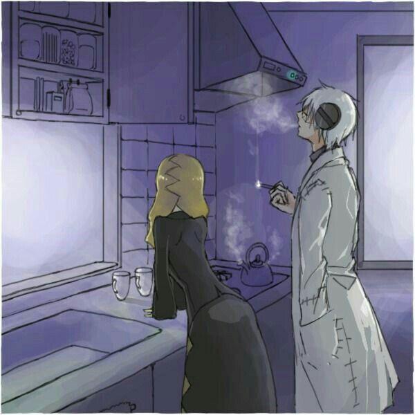 Marie, Stein, kitchen; Soul Eater