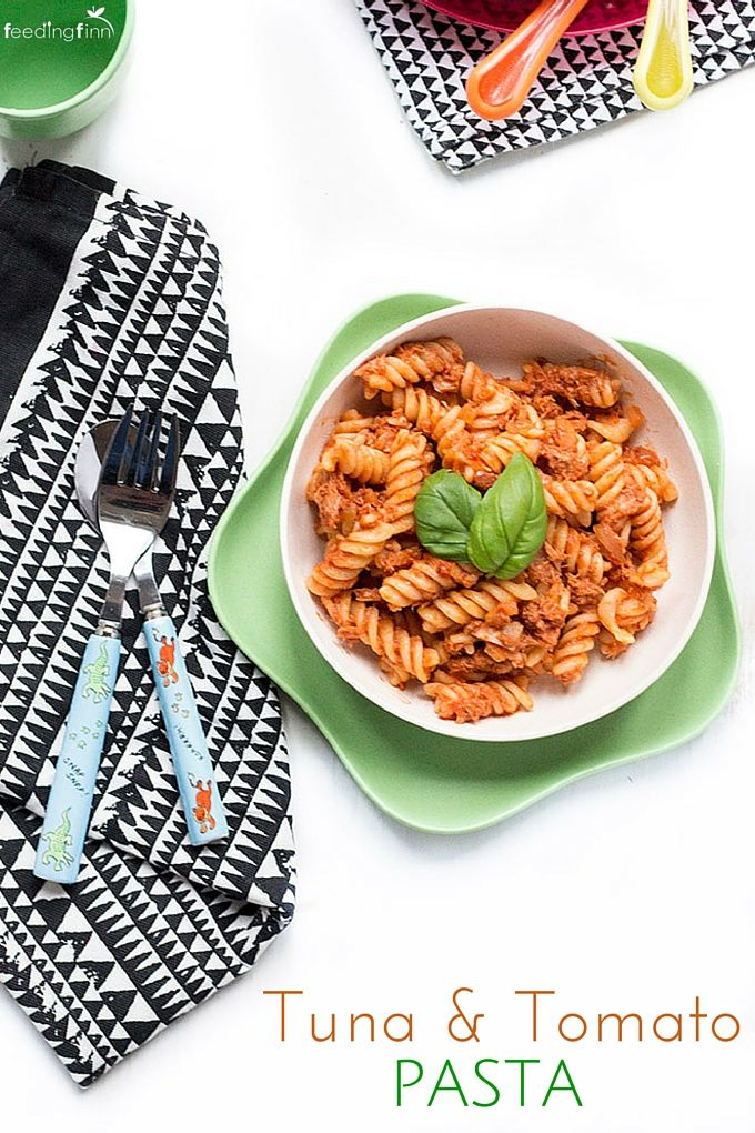 Tuna Tomato Pasta an economical, quick and tasty family dish
