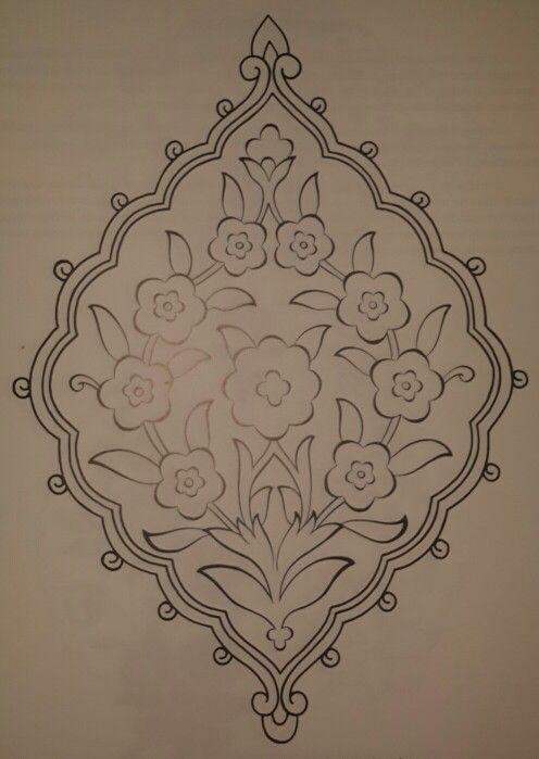 Şemse formu-simetrik düzenleme