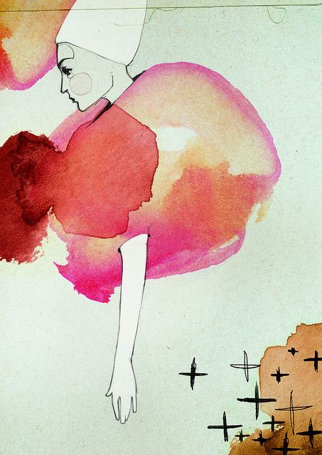 Love the composition, negative space, and colors! by Ekaterina Koroleva