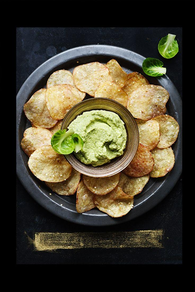 美味又好看 M&S 這款閃金星星的手製薯片絕對是 Party 必備