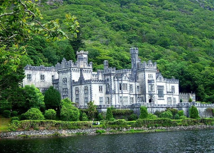 Kylemore Abbey - Connemara, Ireland.  Not sure if we'll make it here or not...but certainly going to try!