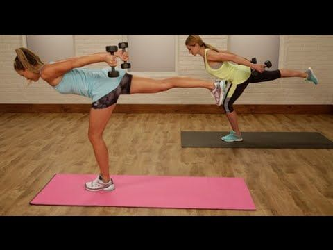 20-Minute Fat-Blasting Full Body Workout | Class FitSugar - YouTube