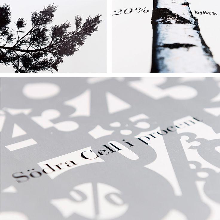 I Södras värld utgår allt från skogen. Vi marknadsförde Södra Cells klorfria papper med bland annat provböcker, broschyrer annonser och DR.