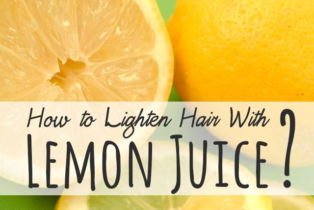 Sick of using nasty chemicals to lighten your hair? Look no further, we got the answer on how to lighten hair with lemon juice to a more pleasing shade.