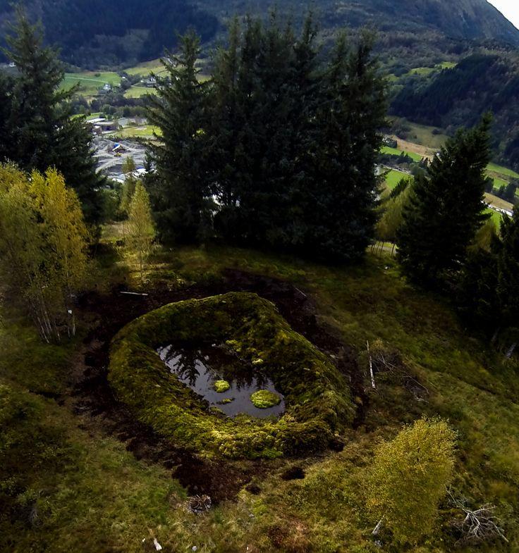Devolution Crater - Ingeborg Annie Lindahl - Kunstlandskap Fjaler 2013