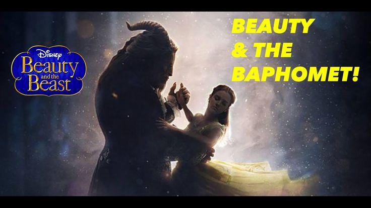 BEAUTY & THE BAPHOMET! (BEAUTY AND THE BEAST TRAILER ILLUMINATI EXPOSED)